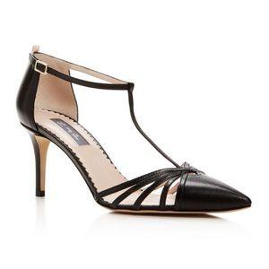 Sarah Jessica Parker Carrie Black Point Toe Heels